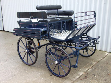 disabled blue carriage carriage 004